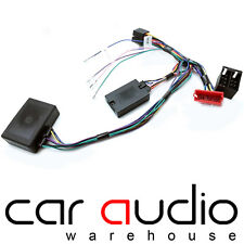 Audi A3 03 On SONY Car Stereo Rear Amplified Steering Wheel Control Interface