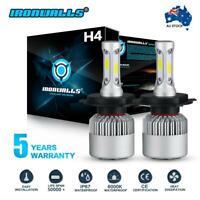 H4 9003 HB2 CSP Led headlight bulb kit 36W 8000LM Hi-Lo beam white 6000k HID