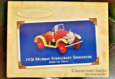 Hallmark Ornament Kiddie Car Classics 1926 Murray Steelcraft Speedster - New