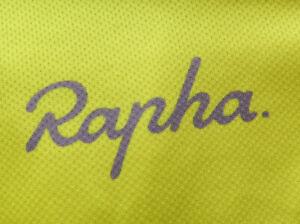 Rapha Yellow SS Full Zip (L) NICE!