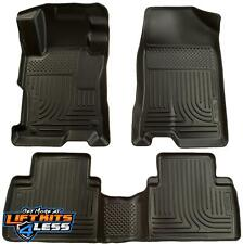 Husky Liners 98531 Black Front & 2nd Row Floor Liners Set for 09-13 Pontiac Vibe