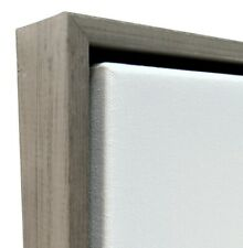 """Weathered Brown Floater Frame for 1.5"""" deep Canvas"""