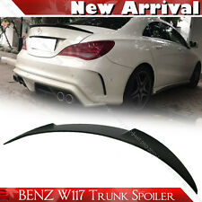 SHIP FROM LA- Unpaint Mercedes BENZ CLA W117 Sedan V Trunk Spoiler CLA250 CLA180