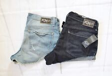 Fox Racing Women's Shorts (two pieces) - Repaired Wash/Dirty Rinse sz 5/27