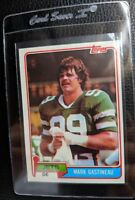 1981 TOPPS #342 MARK GASTINEAU ROOKIE CARD RC NEW YORK JETS HOF MINT OC