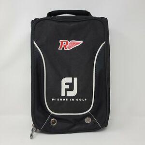 FootJoy FJ Nylon Golf Shoe Bag Black