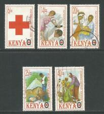 Kenya 1996 Red Cross--Attractive Topical (687-91) fine used