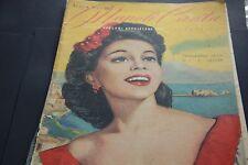 NAPOLI CANTA CELEBRI CANZONI NAPOLETANE 1948 ITALIAN VINTAGE MUSIC BOOK ROCORDI