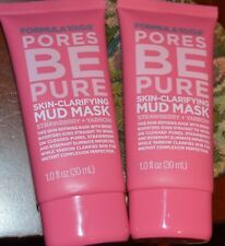 2X FORMULA 10.0.6 Pores Be Pure Skin Clarifying Mud Mask Travel Size