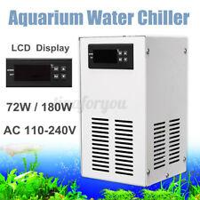 70/120W Aquarium Water Chiller Fish Shrimp Tank Cooling LCD Display AC  UK UK