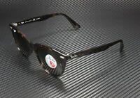 RAY BAN RB2185 902 57 Wayfarer II Stripped Havana Polarized Brown 55 Sunglasses