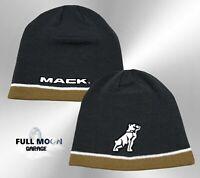 NEW Mack Trucks Bulldog Stripes Classic Vintage Mens Cap Hat Beanie