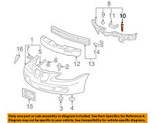 Pontiac GM OEM 05-08 Grand Prix Front Bumper-Support Retainer Right 10363261