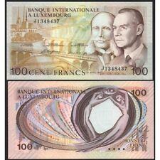 LUXEMBOURG  100 Francs 1981 UNC P 14A