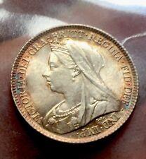 Victoria 6 Pence 1899 Superb Unc!!!