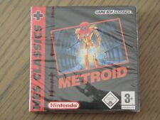 JEU NINTENDO GAMEBOY ADVANCE METROID NES CLASSICS NEUF SOUS BLISTER NEW GAME BOY