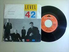 "Level 42 / Lessons In Love-Disco Vinile 45 Giri 7"" Stampa Italia1986"