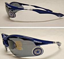 READ LISTING! Dallas Cowboys BULLSEYE XL 3-D Lens Logo on NAVY Blade Sunglasses