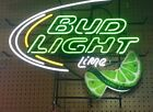 BUDWEISER LIGHT LIME Neon Beer Sign