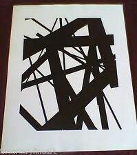 JAMES WELLING 'New Abstractions #1A', 1998 SIGNED Photograph Limited Edition