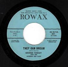 PHILLY NORTHERN SOUL-GEORGE TINDLEY/MODERN RED CAPS-ROWAX-801-THEY CAN DREAM