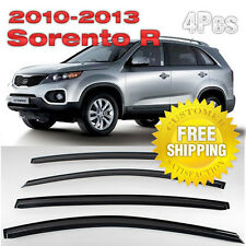 Smoke Window Sun Vent Visor Rain Guards Deflector K088 For KIA 10 - 14 Sorento R