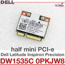 Wi-Fi WLAN WIRELESS CARD scheda di rete PER DELL MINI PCI-E DW1535C 0PKJW8 D24
