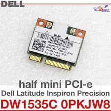 Wi-Fi WLAN WIRELESS CARD NETZWERKKARTE FÜR DELL MINI PCI-E DW1535C 0PKJW8 D24