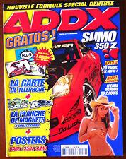 ADDX n°49 du 10/2005; Sumo 350 Z/ Prélude TEnZO R/ Golf III/ Nissan 350 Z/ Mégan
