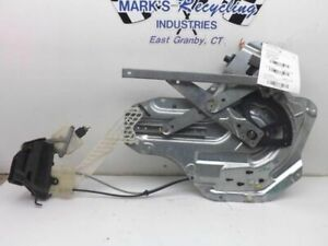 Driver Rear Window Regulator Electric Sedan Fits 01-06 ELANTRA 101099