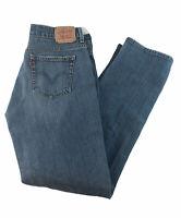 Levis 505 Womens Size 8M Straight Leg Jeans  Medium Wash Denim
