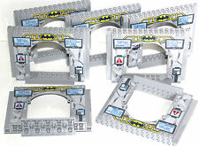 7 x lego BATMAN CAVE GATE - ALL MARKINGS ORIGINALLY PRINTED PART 6063256 10672