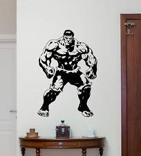 Hulk Wall Decal Movie Superhero Vinyl Sticker Comics Kids Poster Mural 236hor