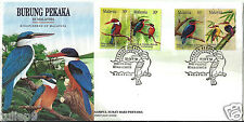 First Day Cover - Malaysia (1993) - Kingfishers of Malaysia FDC