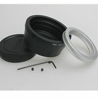 M42 Lens To Micro 4/3 m4/3 Adapter for G1 G7 GH1 GF1 GF7 EP-1 E-PM2 E-PL7+CAP ne