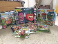 MOSHI Monsters Bundle Rox Collection Jigsaw Plush Stationary Mega Blocks Figures
