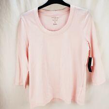 Preswick & Moore Women's Pink 3/4 Sleeve Shirt Size Large New
