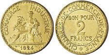 2  FRANCS  CHAMBRE  DE  COMMERCE    1924 ,  SUPERBE  /  FDC