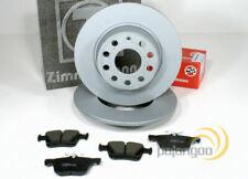 Ford Focus 3 III - zimmermann Discos de Freno Pastillas para Traseras