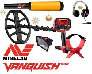 Minelab Vanquish 540 Metalldetektor + Pro-Find 20 Pinpointer Angebot