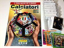 CALCIATORI Panini 2017-2018 Album VUOTO + Set Figurine-Stickers + 4 BUSTINE FILM