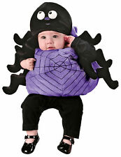 INFANT BABY SPIDER VEST COSTUME & HAT HALLOWEEN FW9648