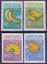 VIETNAM du NORD N°°267/271** Non dentelés banane, 1970 North Vietnam Imperf