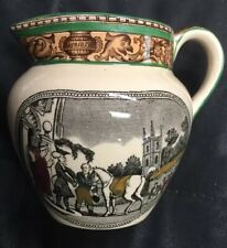 ADAMS England DR. SYNTAX Setting Out On His Tour MILK /CREAM PITCHER 4""
