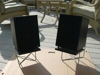 Design Acoustics PS-9 Point Source Series Video Loudspeaker System With Stands
