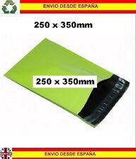 40 Bolsas de plástico mensajeria reciclable 250x350mm envios mailing correo post