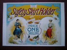 POSTCARD  THE SAFETY SKIRT HOLDER
