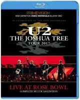 U2 Live At Rose Bowl The Joshua Tree Tour 2017 March 20 Blu-ray 1 Disc Case F/S