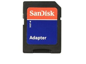 NEW - 1 x Original SanDisk microSD to SD Memory Card Adapter - Canada