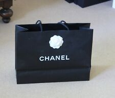 Chanel carrier bag with camellia